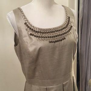 Antonio Melani Bronze Dress Size 12